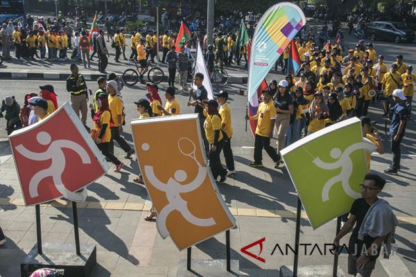 Obor Asian Games akan lewati Kota Bandung